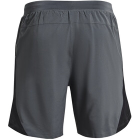 Under Armour Launch SW 2-In-1 7'' Shorts Men, pitch gray-black